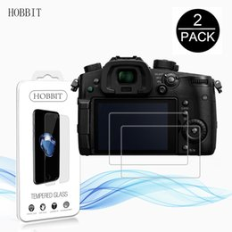 Wholesale Digital Camera Dc - 2Pack For Panasonic Lumix DC-GH5 DC-FZ82 DC GH5 FZ80 0.3mm 2.5D 9H Clear Tempered Glass Screen Protector Digital Camera Film