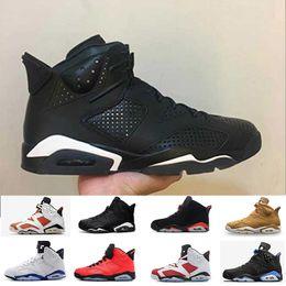 check out a0a30 0ca04 retro 6 alternate 6s Rabatt Jordan retro Großhandel 6 s Infrarot UNC  Basketball Schuhe Frauen Männer