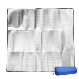 2019 tappetino in alluminio da campeggio Stuoia di alluminio impermeabile EVA Stuoia esterna Pieghevole letto da spiaggia di picnic Mattres Camping Mat JLY0802 tappetino in alluminio da campeggio economici