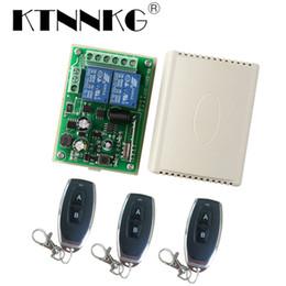 433 Mhz Ricevitore Wireless 2CH Modulo Relè AC 110 V 220 V Home Automation Controller Interruttore di Illuminazione a Distanza e Trasmettitore 433 RF da