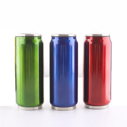 Wholesale Sport Water Bottle Stainless Steel - Outdoor Sports Water Bottle Food Grade 304 Stainless Steel Vacuum Cup Insulation Bowling Cup Cans mug Wholesale