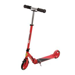 2019 scooter per bambini kick scooter baby bambino pieghevole PU 2 ruote Outdoor Sport Fun Foot Scooters tutto il trasporto campus in alluminio scooter per bambini economici