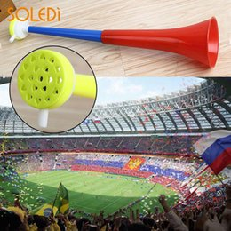 Wholesale wholesale sports horns - World Cup Vuvuzela World Cup Horn Scalable 45.5*9 2018 Russia Soccer Stadium National Sport