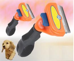 Barracas de ferramentas on-line-3 Cores Escova Do Cão Do Gato Escova De Derramamento Escova Ferramenta de Higiene para Curto A Longo De Pêlos De Animais De Estimação Em Pequeno Médio e Grande tamanho