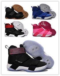 Wholesale Glitter Shoes For Cheap - 2018 hot sale 10 Soldiers X Men Basketball Shoes for Cheap Sale Sports Training Sneakers Size 40-46 Free Shipping