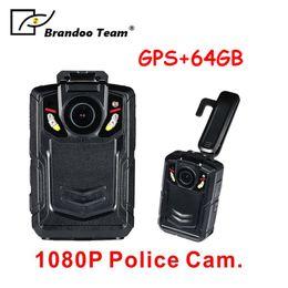 Wholesale Internal Camera - GPS Portable Body Camera, Wireless Wearable Camera with 64GB internal memory, Person Worn Camera, Portable HD Body Camera