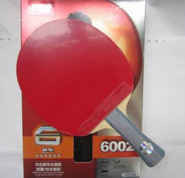 Wholesale Table Tennis Racket Long Pimples - Original DHS 6002 (6002, 6 STAR)FL long handle and 6006 CS short handl Table Tennis Racket with Case racket sports indoor sports
