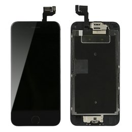 Wholesale iphone front camera replacement - For Iphone 6s plus LCD With Touch Screen Digitizer Display + Front Camera Home Button Full Assembly 5.5inch Screen Replacement In Stock