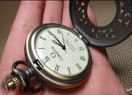 Wholesale Old Collections - Republic of China 10 Omega crystal machinery small pocket watch antique miscellaneous antiques junk collection old antiques