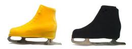 2020 scarpe abito su misura Copertura su ordinazione delle scarpe di trasporto libero con il vestito di pattinaggio su ghiaccio dei gioielli di pattinaggio di figura del ghiaccio di velluto per la concorrenza WZ2002 sconti scarpe abito su misura