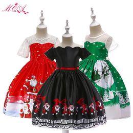 2019 vestidos de estilo princesa para meninas Meninas vestido, 2018 novo estilo do bebê meninas da moda dos desenhos animados vestido de princesa para o natal do dia das bruxas dress, roupas meninas desconto vestidos de estilo princesa para meninas