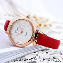 Wholesale White Watches Bling - Women Dress Watches Luxury Bling Gold Crystal PU Leather Strap Quartz Wrist Watch relogio feminino Clock Hours New