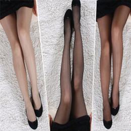 2019 pantyhose moda magro Calze di seta moda donna Gamba skinny Sexy Calza di seta con gancio eccellente Collant magici elastici Collant Impedire 1 paio sconti pantyhose moda magro