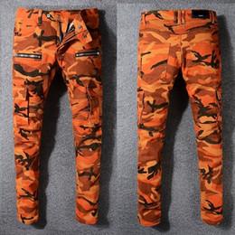 Wholesale stripe denim shorts - Men's Distressed Ripped Skinny Fashion Designer Shorts Slim Motorcycle Moto Biker Causal Mens Denim Pants Hip Hop men Jeans #B991