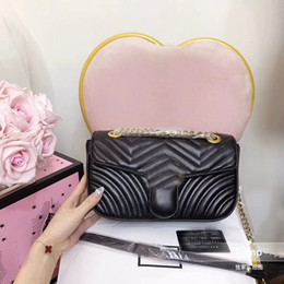 Wholesale small soft box - new arrival shoulder bags women popular 27cm come with box crossbody bag handbags designer purse popular FOR female bag hot sale