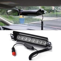 feux-éclair d'avertissement d'incendie Promotion 8 LED 3 mode voiture camion stroboscope stroboscopique d'urgence flash police d'avertissement de lumière
