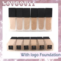 Wholesale N Skin - N Brand All Day Luminious Weightless Foundation Makeup Face Concealer Fluide Leger Longue 30ml 6 Colors 880025-2