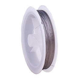 Canada Fil d'artisanat de fil de perle de queue de tigre - 90m / 0.3mm / Silver Offre