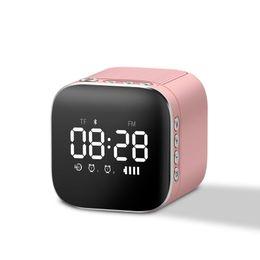 2019 haut-parleurs de l'ordinateur mobile Bluetooth Haut-Parleur Mini Sans Fil Subwoofer Mobile Téléphone Ordinateur Portable Accueil Horloge Réveil Son haut-parleurs de l'ordinateur mobile pas cher