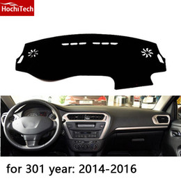 Wholesale Peugeot Dashboard - for Peugeot 2008 301 508 3008 dashboard mat Protective pad Shade Cushion Photophobism Pad car styling accessories