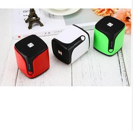 Wholesale floor standing loudspeakers - In 2018, the new wireless bluetooth speaker mini S9 portable loudspeaker can be installed at the tf card audio factory wholesale