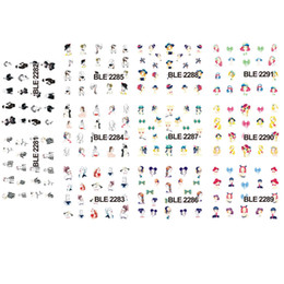 Wholesale Images Figures - ail Art Stickers Decals Beauty Girl 1sets 11 Designs Water Transfer Stickers New Sexy Women Figure Image Decals Nail Art Decorations Tips...
