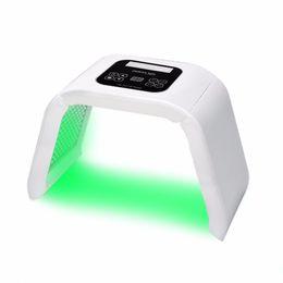 7 цвет PDT светодиодная светотерапия машина светодиодная маска для лица красоты СПА фототерапия для омоложения кожи лечение угревой сыпи от