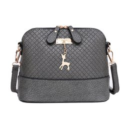 Wholesale One Messenger - Women Messenger Bags Fashion Mini Bag With Deer Toy Shell Shape Bag Women Shoulder Bags handbag HHAB
