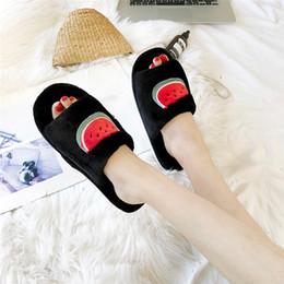 2402feb7f2eac8 2018 Fruit Beach Slippers Shoes Open Toe Non-slip Candy Color Jelly Flip  Flops Sandals Slip On Slides Shoes Women 10