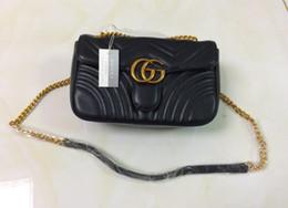 Wholesale Handbag Quality - high quality women Fashion luxury designer handbags leather backpack bags for women Chain shoulder bag ladies handbags cross Body bag