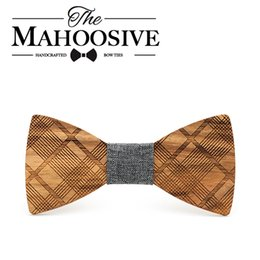 Wholesale Head Groom - Mahoosive Boutique Metal Head Bow Ties For Groom Men Women Butterfly Solid Bowtie Classic Gravata Cravat Freeshipping