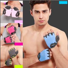 Wholesale Function Exercises - 2PC SET Multi-function Running Gloves Nylon Outdoor Sport Slip-Resistant Exercise Training Men&Women Fitness Workout