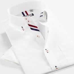Smart Fünf Männer Kurze Marke Baumwolle Camisa Masculina Kurzarm Slim Fit  Shirt Männer Sommer Stil Neue Importierte Kleidung 5XL 6XL A 0e349f85af