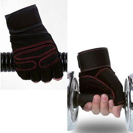 Wholesale Weight Lifting Wrist Support Wraps - Outdoor Sports Gloves Wrist Support Weight Lifting Gym Gloves Workout Wrist Wrap Sports ExerciseTraining Safety Glove