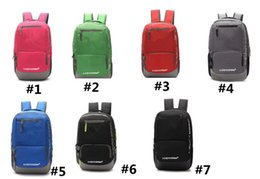 Wholesale latex movie stars - Unisex UA Backpack bookpacks men women Shoulder Bags teenage students Schoolbag Outdoor sports Backpacks Travel tote Bags outdoor Daypack