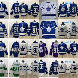 Wholesale hockey jersey toronto - The Captain C Patch 91 John Tavares Toronto Maple Leafs Jersey & Edmonton Oilers 97 Connor McDavid Captain C Patch Hockey Jerseys Cheap