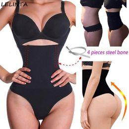 77d97d9263 Women Waist Cincher Girdle Stomach Shaper Tummy Slimmer Sexy Thong Panties  Shapewear Waist Trainer Slimming Hot Body Shapers