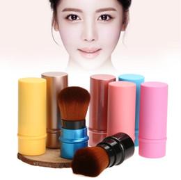 Wholesale retractable blusher brush - New Makeup Tools Retractable Makeup Brush Professional Cosmetic Foundation Blusher Face Blush Powder Brushes Beauty maquiagem Makeup