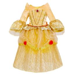 niños americanos estilo de vestir Rebajas 2018 Europa de la manera y American Style Kids Dresses para Halloween Hallowmas Baby Sweet Sweet Princess Dresses Vestidos de gasa Baby Girl Clothes