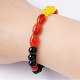 Bracelet exquise haut de gamme pierres multicolores de haute qualité chaîne bijoux mode impressionnant expédition de poignet unique breloques ? partir de fabricateur