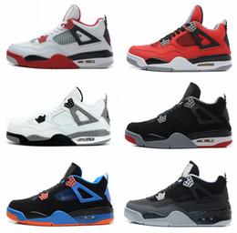 low priced 92ce7 f311e Nike Air Jordan 1 4 6 11 12 13 Retro basket uomo di alta qualità autentici  stivali da uomo bianco cemento rosso fuoco allevati tori uomo scarpe  sportive ...