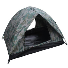 Wholesale fiberglass design - RUNACC 3-4 Person Camping Tent 3-season Backpacking Tent Double-layer Pop Up with Double Door Design