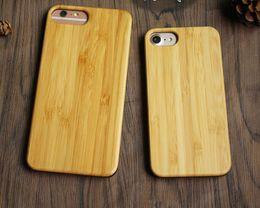 Caixa de madeira sólida iphone on-line-2018 preço promocional de madeira case para iphone x 10 6 6 s 7 8 plus 5 5S se shell de telefone de madeira de madeira sólida para samsung galaxy s7 edge s8 s9 s6