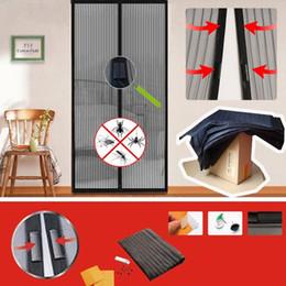 Haus & Garten Fliegengitter 100*210 Cm Bug Mesh Vorhang Sommer Anti-mücken Magnetische Tüll Duschvorhänge Automatische Schließen Fenster-bildschirm Protecter Fly Net
