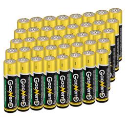 Wholesale new toys bulk - aaa alkaline New arrival General60pcs Gaoneng AAA Alkaline 1.5v Bulk Batteries Toy Environmental protectio Supply Power