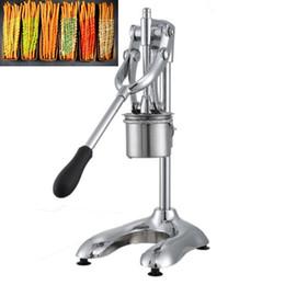 Acier Inoxydable Longues Machines À Friteries Commerciales Plus Longues Pommes De Terre Rôties Frites Chips Pression Presse Légumes Cutters Outils ? partir de fabricateur