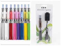 Ego t ce4 vape penna online-Vape Pen CE4 Kit Ego-T Starter Kit Cartuccia di vapore EGO-T Battery Blister Pack Clearomizer Vape Batteria 650mah 900mah 1100mah E Cig Kit DHL