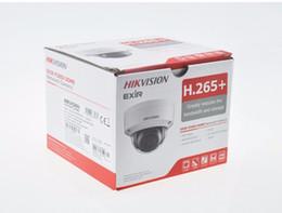 Correction de carte sd en Ligne-Hikvision DS-2CD2143G0-I Caméra réseau à dôme fixe IR 4MP POE H.265 + IP67 Slot de carte SD IR 30m Remplacer DS-2CD2142FWD-I Caméra IP 8pcs / lot