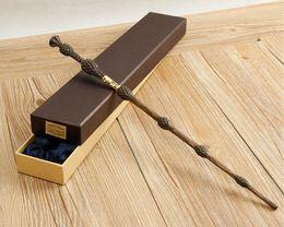 Metal Core Albus Dumbledore Magic Wand  Harri Potter Magical Wand  Harry Potter Stick  High Quality Gift Box Packing