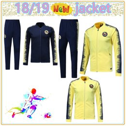 492ff8a26 Top quality 2018 2019 Mexico LIGA MX Club America jacket soccer tracksuit  home away 18 19 Club America soccer training suit jackets